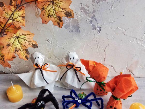 Видеоурок: украшаем с детьми конфеты на Хэллоуин | Ярмарка Мастеров - ручная работа, handmade