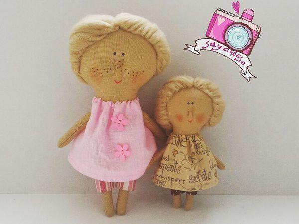 Мини-Куклы | Ярмарка Мастеров - ручная работа, handmade