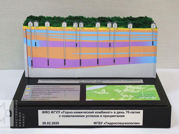 Макет Геолого-гидрогеологической модели   Ярмарка Мастеров - ручная работа, handmade