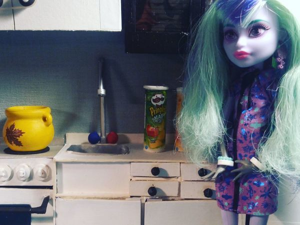 Делаем кухонную тумбу, раковину и водопроводный кран для кукол | Ярмарка Мастеров - ручная работа, handmade