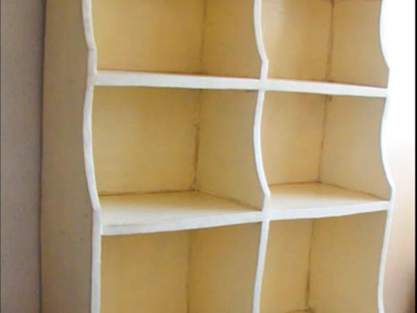 Видеоурок: мастерим из картона кухонный стеллаж в стиле прованс | Ярмарка Мастеров - ручная работа, handmade