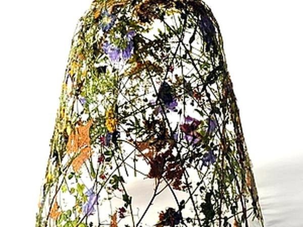 Объемные скульптуры из сухих листьев и цветков от Ignacio Canales Aracil   Ярмарка Мастеров - ручная работа, handmade