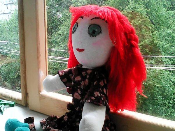 Первая кукла | Ярмарка Мастеров - ручная работа, handmade
