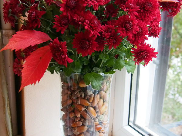 Красиво оформляем осенний букет | Ярмарка Мастеров - ручная работа, handmade