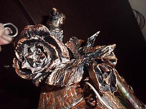 Делаем «кованую» розу из бумаги   Ярмарка Мастеров - ручная работа, handmade
