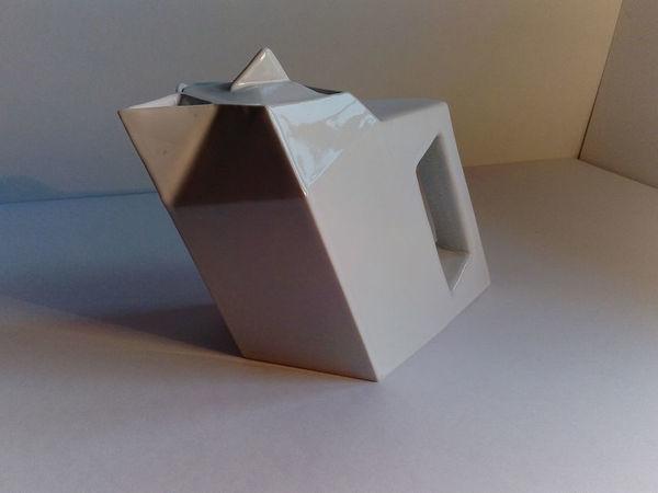 «Угловатые» изделия из фарфора: особенности изготовления | Ярмарка Мастеров - ручная работа, handmade