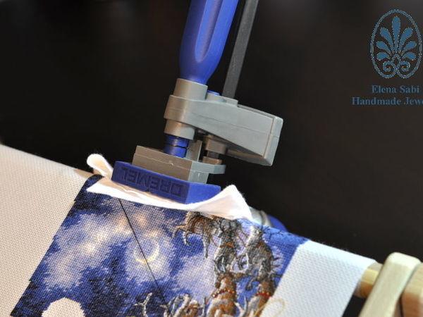 Поговорим о держателях вышивальных рам и пялец | Ярмарка Мастеров - ручная работа, handmade