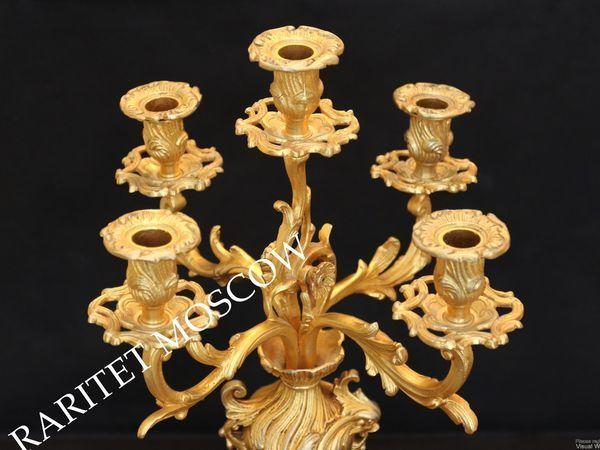 Раритетище Подсвечник бронза золото Франция 30 | Ярмарка Мастеров - ручная работа, handmade