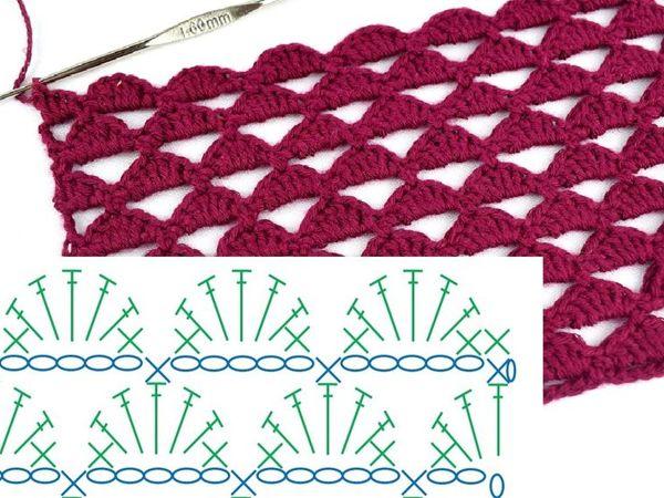 Мастер-класс: вязание крючком со схемой | Ярмарка Мастеров - ручная работа, handmade