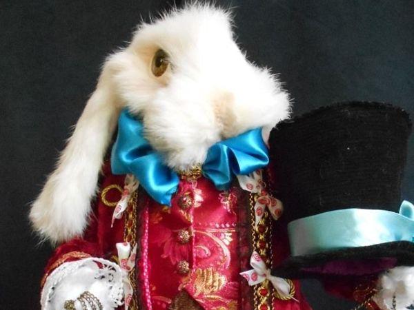 Курс  «Как сделать Белого кролика за 7 дней»  в ПОДАРОК!!!   Ярмарка Мастеров - ручная работа, handmade
