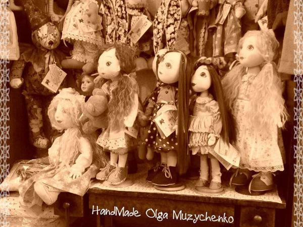 Куклы ждут ... | Ярмарка Мастеров - ручная работа, handmade