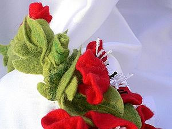 Маковая полянка. Вариации. Сумка, брошь, обруч для волос. | Ярмарка Мастеров - ручная работа, handmade