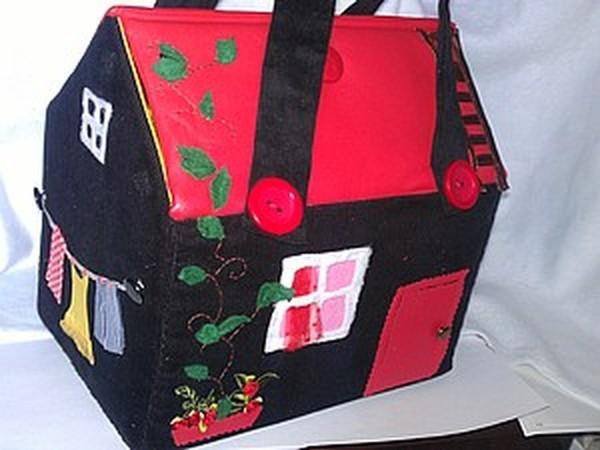 38c2d1ac0b37 Сумка-домик. Креативно, стильно, необычно. И очень просто шить ...