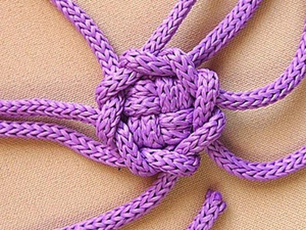Macrame: Weaving an Intricate Button | Livemaster - handmade