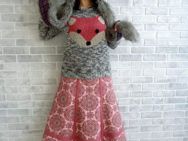 Шьём стёганную юбку из рогожки и льна. Часть 2 | Ярмарка Мастеров - ручная работа, handmade