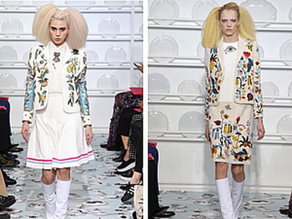 0eba555d1d74 Сюрреалистический шарм новой коллекции Schiaparelli весна-лета 2016: яркие  работы нового дизайнера Bertrand Guyon