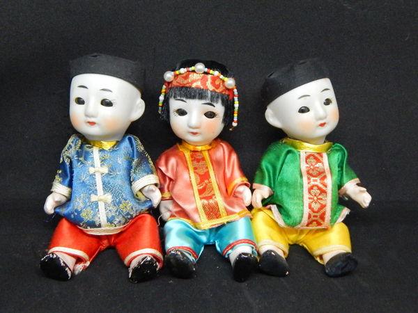 Японские антикварные малыши | Ярмарка Мастеров - ручная работа, handmade