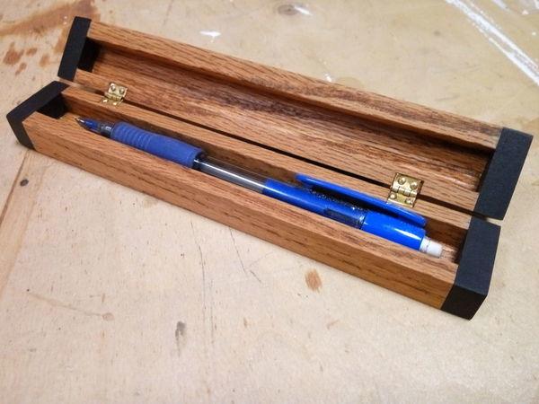 Мастерим деревянный футляр для ручки | Ярмарка Мастеров - ручная работа, handmade