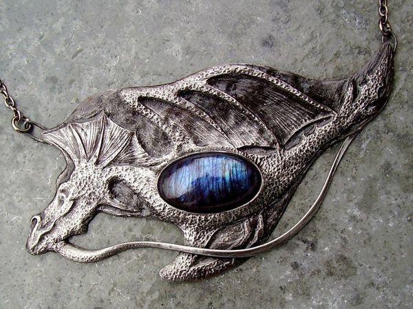Чарующие украшения в технике Tiffany gems | Ярмарка Мастеров - ручная работа, handmade