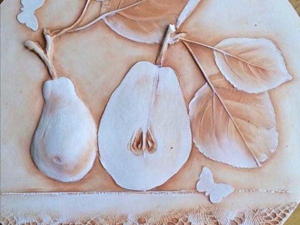 Мастер класс  «Ботанический барельеф» | Ярмарка Мастеров - ручная работа, handmade