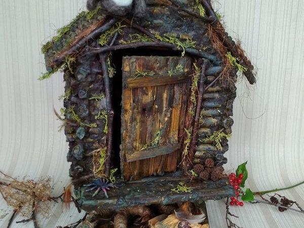 How to Make a Handmade Baba Yaga's Hut | Livemaster - handmade