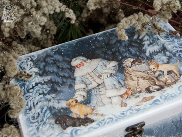 Сказки, краски и немного зимнего волшебства   Ярмарка Мастеров - ручная работа, handmade