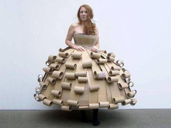 Креативные идеи творчества: неординарные модели нарядов   Ярмарка Мастеров - ручная работа, handmade