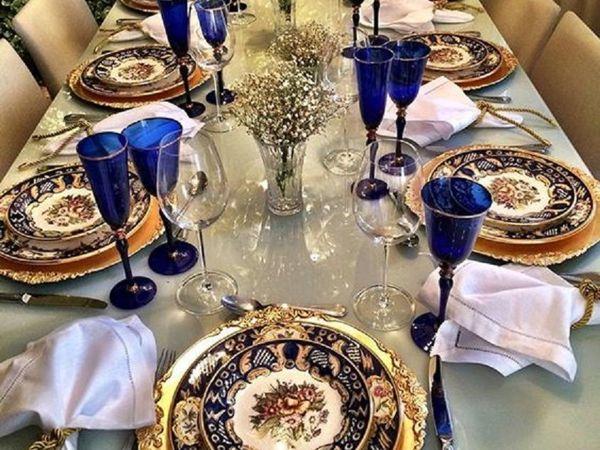 Декорация праздничного стола | Ярмарка Мастеров - ручная работа, handmade