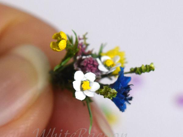 Миниатюрные цветочки в медальонах | Ярмарка Мастеров - ручная работа, handmade