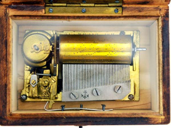 Музыкальная Шкатулка Мелодия Вальс Любви, О Ты красивая Куколка Швейцария 1940-1960гг music box | Ярмарка Мастеров - ручная работа, handmade