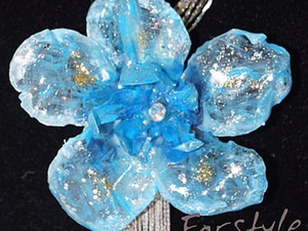 МК по Sospeso «Стильная бижутерия. Фантазийный цветок» | Ярмарка Мастеров - ручная работа, handmade