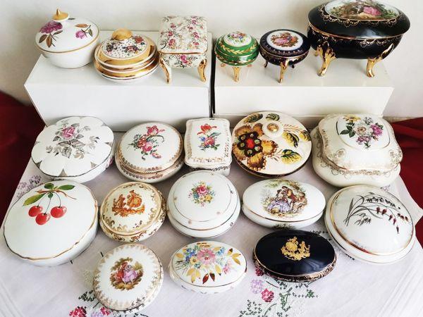 Большая коллекция фарфоровых шкатулок в России | Ярмарка Мастеров - ручная работа, handmade