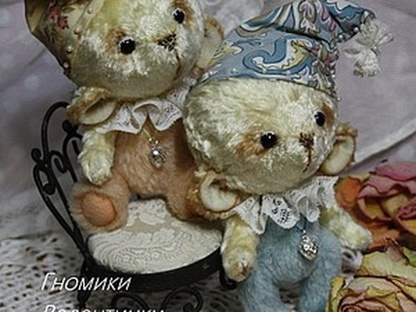 Валентинки-мишки | Ярмарка Мастеров - ручная работа, handmade