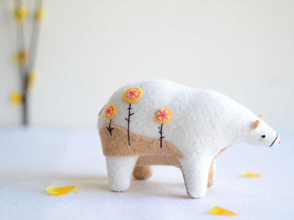 Amazing Felted Bears by Sabina Gibson | Livemaster - hecho a mano - handmade