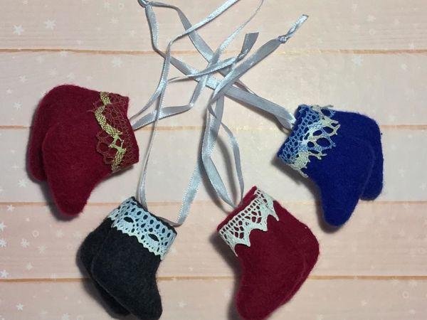 Валяем сувенирные валенки «Подарок Деду Морозу» | Ярмарка Мастеров - ручная работа, handmade