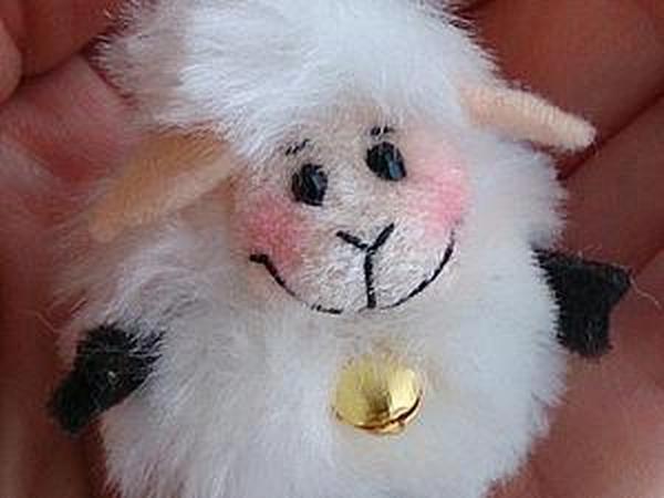 Маленькая миленькая быстрая овечка своими руками   Ярмарка Мастеров - ручная работа, handmade