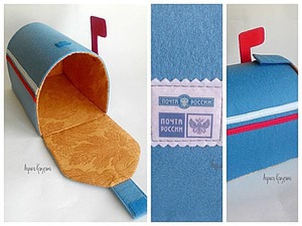 Мастерим почтовый ящик для домашних писем и посланий   Ярмарка Мастеров - ручная работа, handmade