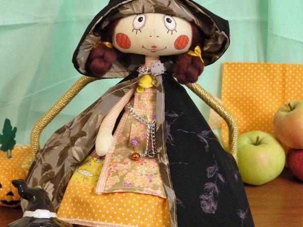 Видео мастер-класс: шьем осеннюю ведьмочку   Ярмарка Мастеров - ручная работа, handmade