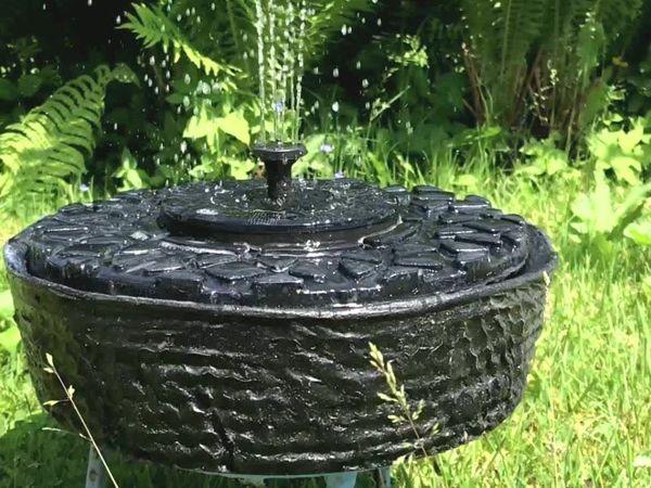 Делаем фонтан для сада. Идеи для коробки из-под торта! Часть 1 | Ярмарка Мастеров - ручная работа, handmade