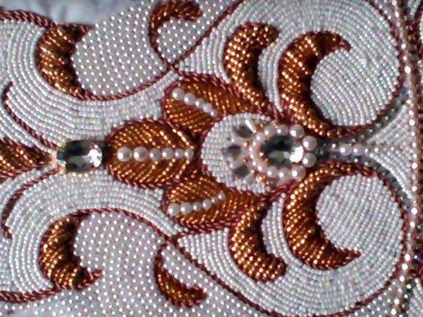 Видео мастер класс: Вышивка орнамента на части плащаницы | Ярмарка Мастеров - ручная работа, handmade