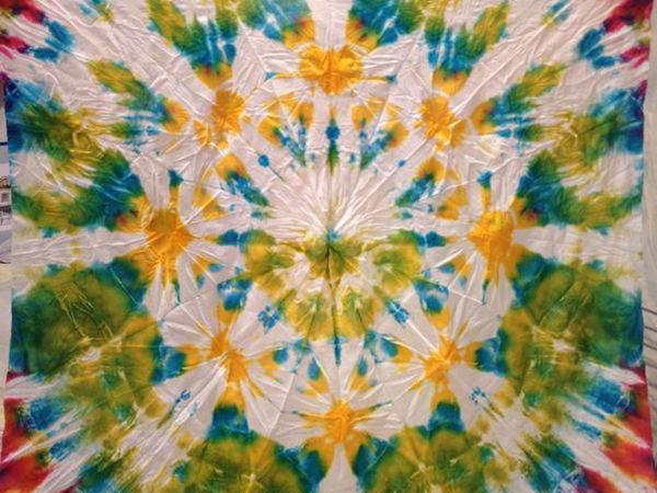 Мастер-класс Н.Сафоновой по окрашиванию тканей в технике шибори | Ярмарка Мастеров - ручная работа, handmade