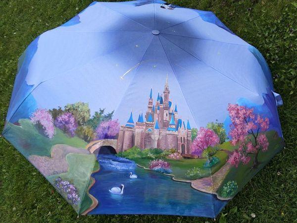 Впустите сказку в свою жизнь — видео с зонтом  «Замок Диснея»   Ярмарка Мастеров - ручная работа, handmade