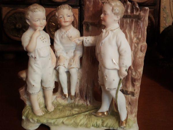 Статуэтки детей от Gebruder Heubach | Ярмарка Мастеров - ручная работа, handmade