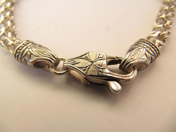 Цепь Арабский бисмарк с листьями клевера -20% | Ярмарка Мастеров - ручная работа, handmade
