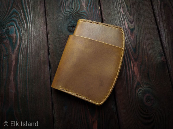 Бумажник бифолд Dokki bifold   Ярмарка Мастеров - ручная работа, handmade