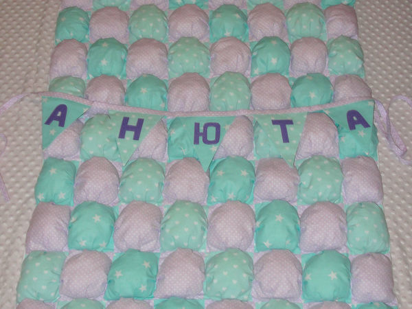 Шьем бомбон-одеяло своими руками   Ярмарка Мастеров - ручная работа, handmade