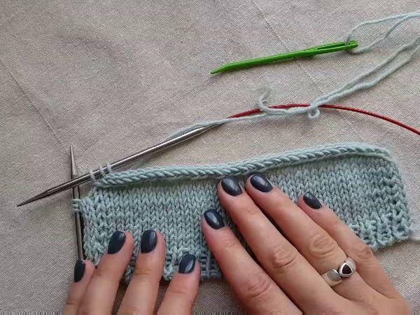 Полый шнур i-cord: обработка нижнего края изделия и горловины с завязками | Ярмарка Мастеров - ручная работа, handmade