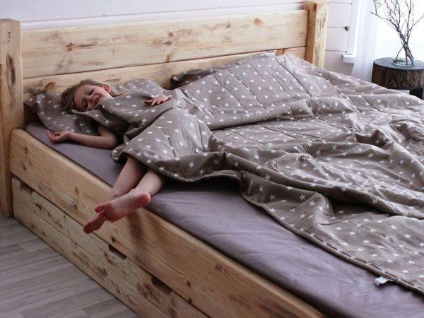 Ух, а ведь кому-то очень везёт просыпаться на таких кроватях | Ярмарка Мастеров - ручная работа, handmade