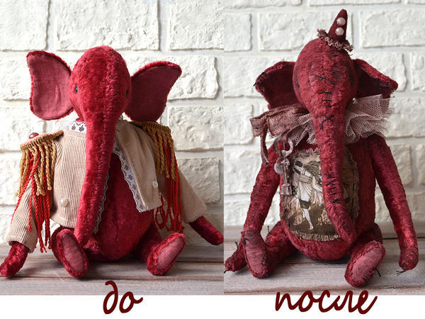 How to Age a Teddy and Make it Warmer Than Before | Livemaster - handmade