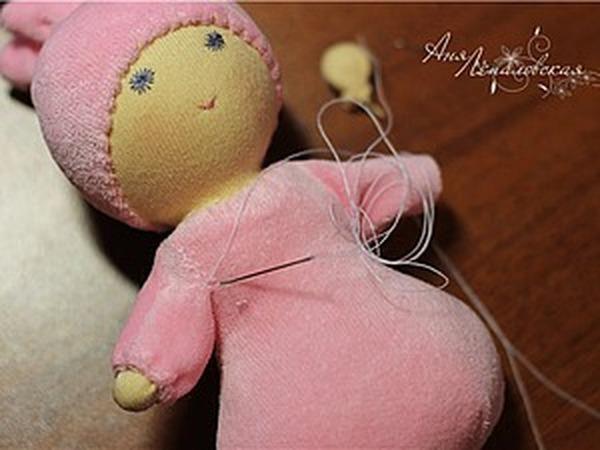 Вальдорфская куколка «Пуська»   Ярмарка Мастеров - ручная работа, handmade
